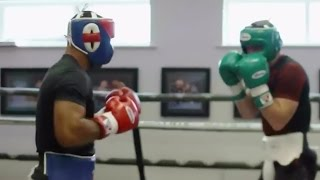Kell Brook Sparring Canelo