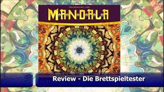 Mandala von Lookout Spiele - Review mit Let´s Play - Brettspiel - Die Brettspieltester