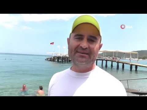 Balıklar için yapay resif yaptı
