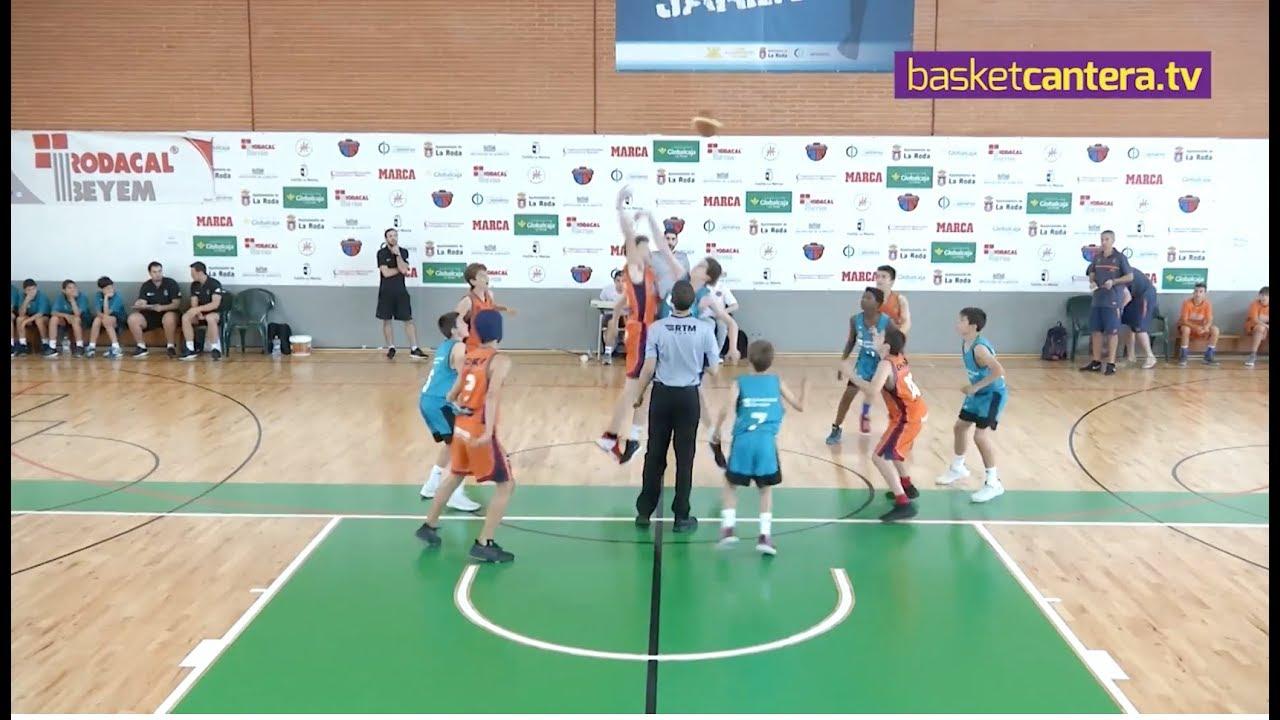 U12M - VALENCIA BASKET vs REAL MADRID - Semifinal Torneo Alevín MARCA Villa de la Roda 2018