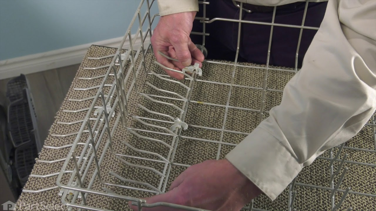 Replacing your Frigidaire Dishwasher Lower Dishrack Assembly