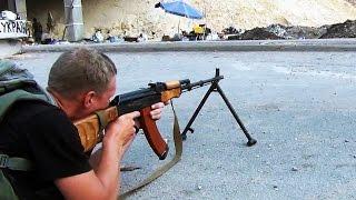 Проверка бронежилета - ПМ, АК, РПК. Батальон Днепр