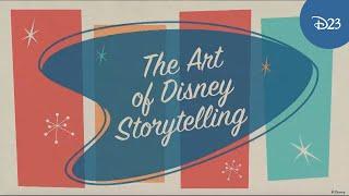 The Art Of Disney Storytelling Panel Highlights   D23 Expo