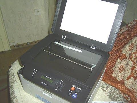 Funktionsprüfung  Samsung Xpress M2070W Laserdrucker Multifunktionsgerät