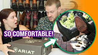 These Legacy R Toe Ariat Booties Are Comfortable! (GIVEAWAY!)