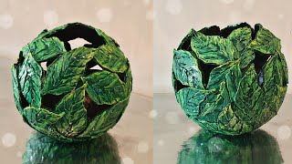 DIY Beautiful Leaves Bowl || Room Decor Idea:
