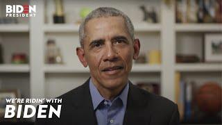 #TMPCHECKOUT: President Barack Obama endorses Joe Biden For President