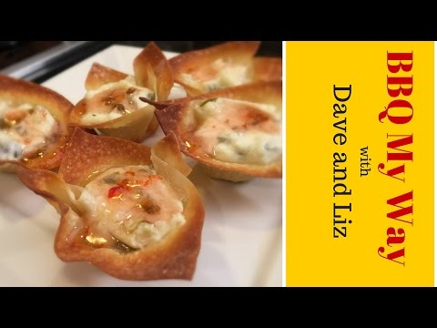Easy Appetizer Recipe – Spicy Wontons Poppers