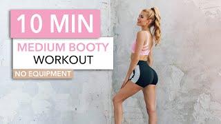 10 MIN BOOTY WORKOUT - Medium Intensity / No Equipment I Pamela Reif
