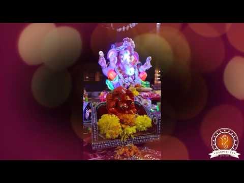 Sumit Biyani Home Ganpati Decoration Video