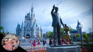Our first day EVER in Disney World! (SO EXCITING!) | Disney World vlog #01 - Video Youtube