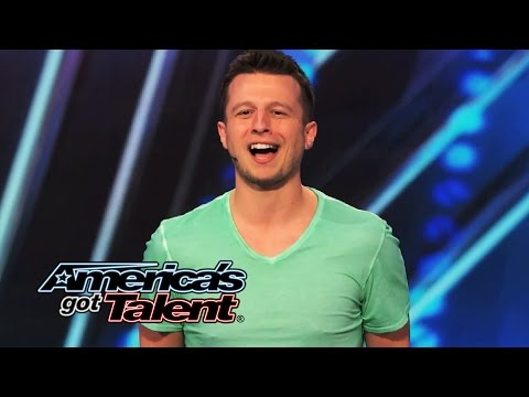 Mat Franco: Self-Taught Magician Tells Surprising Story With Cards - America's Got Talent 2014 (видео)
