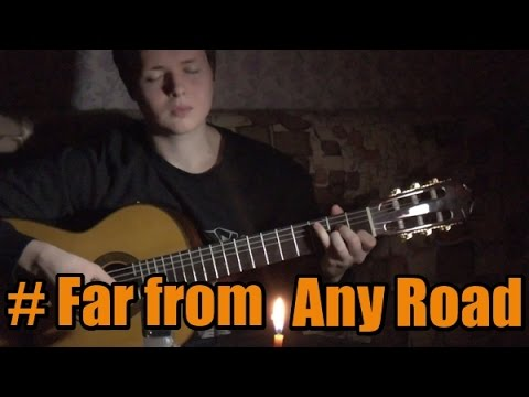 Far from Any Road - The Handsome Family (True Detective Opening song) guitar cover