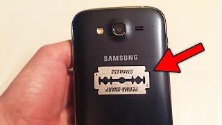 Telefonunuza Jilet Taktığınızda Neler Olduğunu Görün. İnanmayacaksınız !!