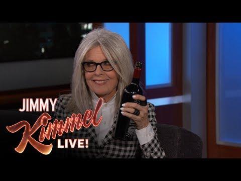 Diane Keaton Has Lots of Questions for Jimmy Kimmel