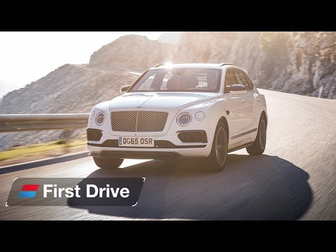2016 Bentley Bentayga first drive review