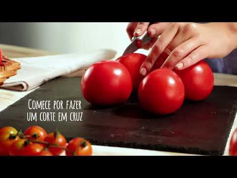 Preparar vários tipos de tomate