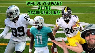 Eagles Will Make A Trade By The Deadline But Who Will They Get? Davante Parker Is Now On The Block!!