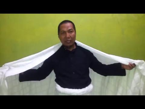 Video Cara Panduan memakai pakaian ihram yang benar dalam Umroh atau Haji