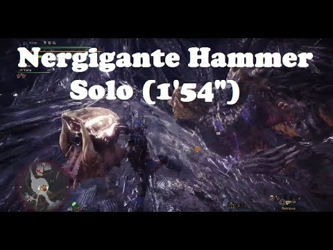 MHW: Hammer Affinity (Critical) Builds | DPS Mixed set | Empress