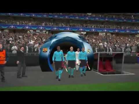 ศึกบิ๊กแมตช์! Real Madrid VS Fc Barcekona Pes 2016