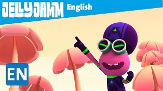 Jelly Jamm English. The Fall of Jammboman. Children's animation series. S02 - E65