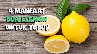 4 Manfaat Lemon yang Tak Banyak Orang Tahu, Bisa Hilangkan Bau Badanmu Lho!
