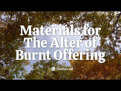 Exodus 38: Alter Of Burnt Offering | Bible Stories