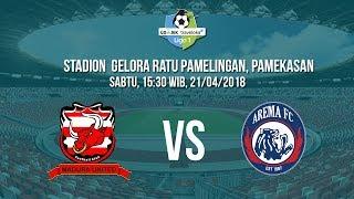 Live Streaming Indosiar-Vidio.com Liga 1 Indonesia, Madura United Vs Arema FC Pukul 15.30 WIB