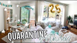 Quarantine Birthday Surprise For My Boyfriend!!