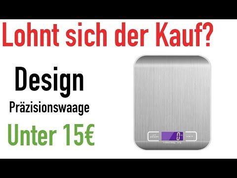 PRÄZISIONSWAAGE UNTER 15€!!