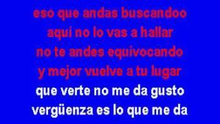 Juan Gabriel   Te Vas A Quedar Con Las Ganas Karaoke