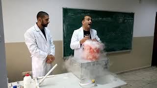 Katıdan Gaza Eğlenceli Bilim (Süblimleşme) Tübitak 4006
