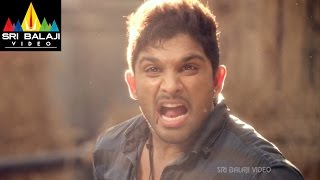 Iddarammayilatho Movie Interval Fight Scene | Allu Arjun, Amala Paul, Catherine | Sri Balaji Video