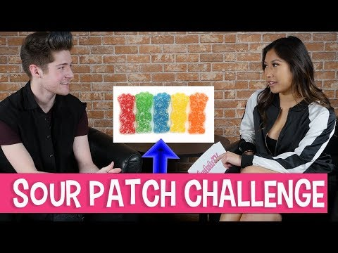 Johnnie Mikel and the Sour Patch Kids Challenge | FanlalaTV