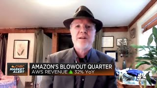 There's still a lot of room for growth for AWS, says fmr. Amazon VP