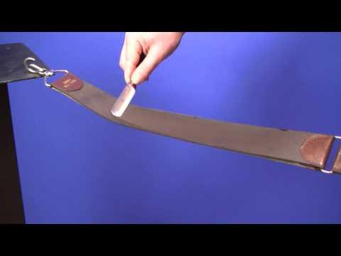 How To - Rasiermesser abziehen auf dem Streichriemen - www.pizzini.at
