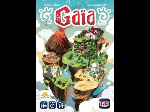 Board Game Brawl Reviews - Gaïa