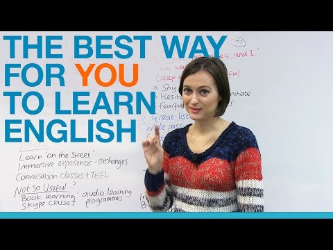 The BEST way for YOU to learn English - Extrovert or Introvert?