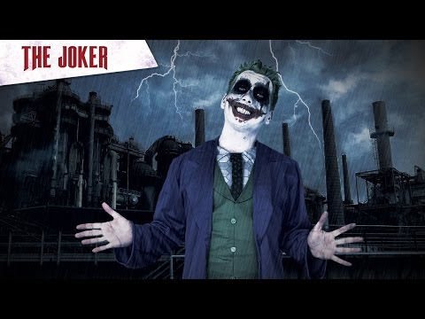 Halloween make-up instructie video van The Joker