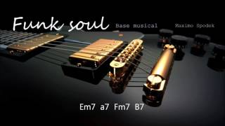 BASE  DE FUNK / SOUL EN Em 100 bpm, PARA TROMPETA, GUITARRA, SAXO, PIANO, PERCUSION, ETC