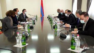ՀՀ ԱԳ նախարարի հանդիպումը Կովկասում և Կենտրոնական Ասիայում ՆԱՏՕ-ի Գլխավոր քարտուղարի հատուկ ներկայացուցչի հետ