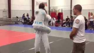 Miriam Villar 2013 DFW Mat Shark Alvarez Jiu Jitsu Arlington TX