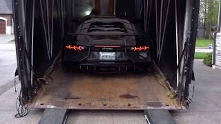 Lamborghini Aventador SV Delivery