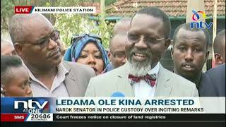 Senator Ledama ole Kina's lawyer talks tough following his arrest