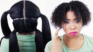 HOW TO: VIXEN Sew In ON YOURSELF! DIY Weave Tutorial