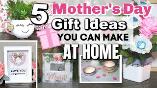🎀 DIY MOTHERS DAY GIFTS YOU CAN MAKE AT HOME | 5 Dollar Tree DIY Mothers Day Gift Ideas 2020