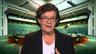Independent Member for Indi, Cathy McGowan AO, explains her process for voting in Parliament