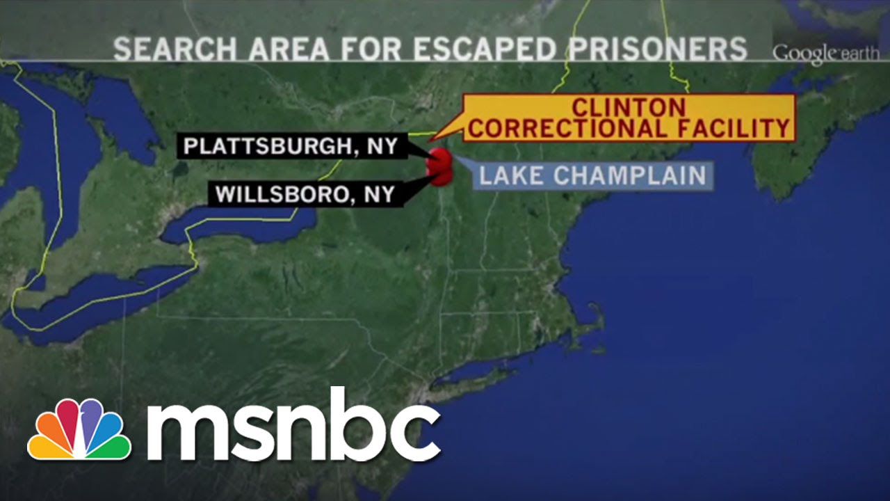 Bloodhound Has Picked Up Convicts' Scent | msnbc thumbnail