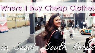 Street Shopping, Seoul